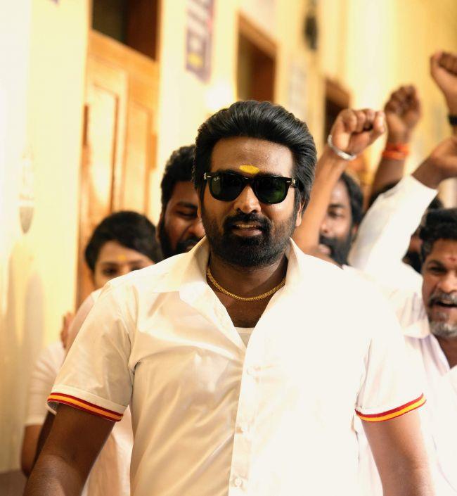 Vijay Sethupathi in White