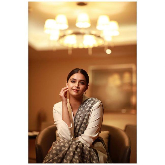 Keerthy Suresh Stunning