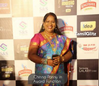 Chinnaponnu - Bigg Boss Tamil 5 Contestant