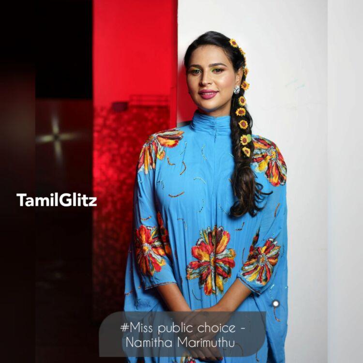 Namitha Marimuthu Bigg Boss Tamil 5 Contestant